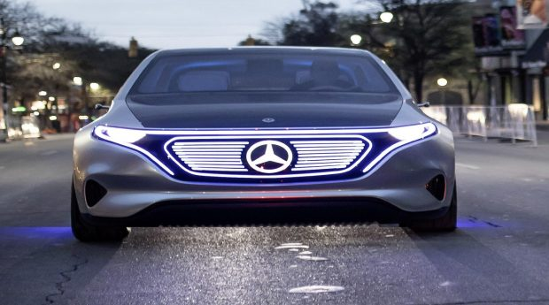 Le concept-car Mercedes EQS au Salon de Francfort 2019 ?