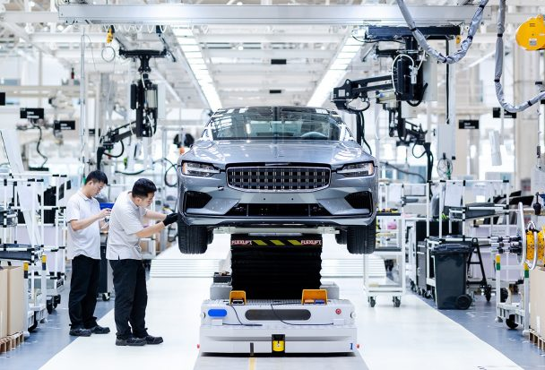 La Polestar 2 entame sa production en Chine