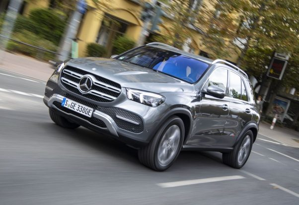 Mercedes GLE hybride rechargeable