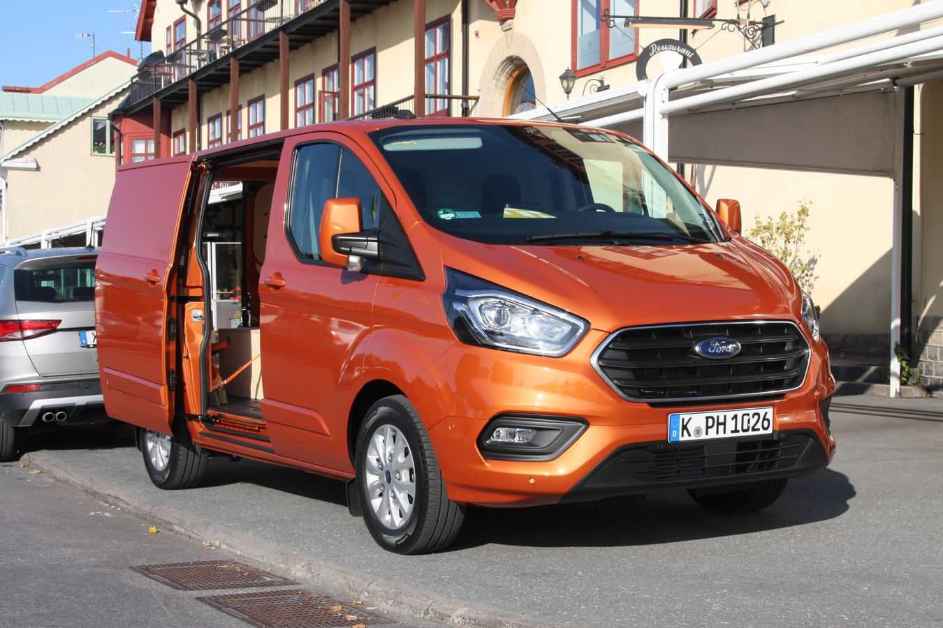 Ford Transit Custom hybride rechargeable essai 2019