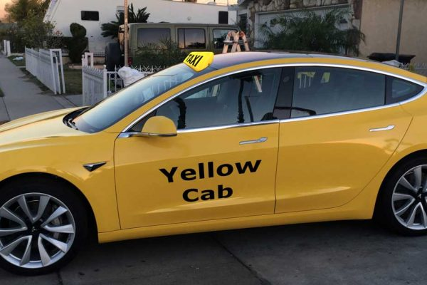 La Tesla Model 3 investit les taxis new-yorkais