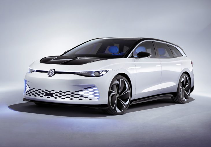 Volkswagen ID. Space Vizzion : voici le break électrique du futur
