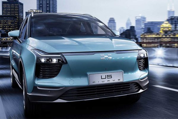 Aiways lance la production de son SUV électrique à 35.000 € pour l'Europe