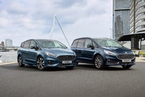 Ford proposera une version hybride des S-Max et Galaxy en 2021