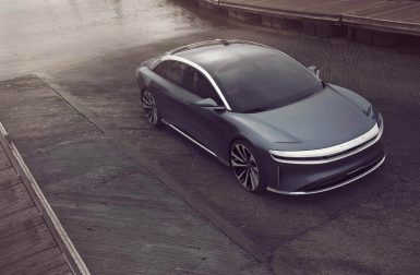 Lucid Air : la berline électrique disponible en Europe