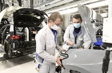 Volkswagen relance lentement la production de l'ID.3