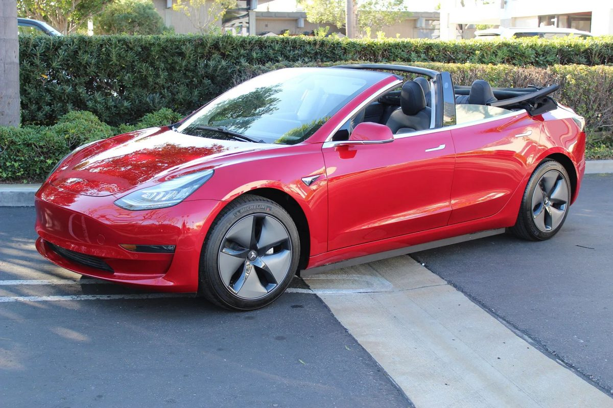 Tesla Model 3 Cabriolet Newport Convertible Engineering