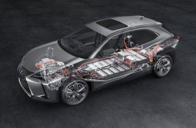 Lexus UX300e : des batteries garanties 1 million de kilomètres