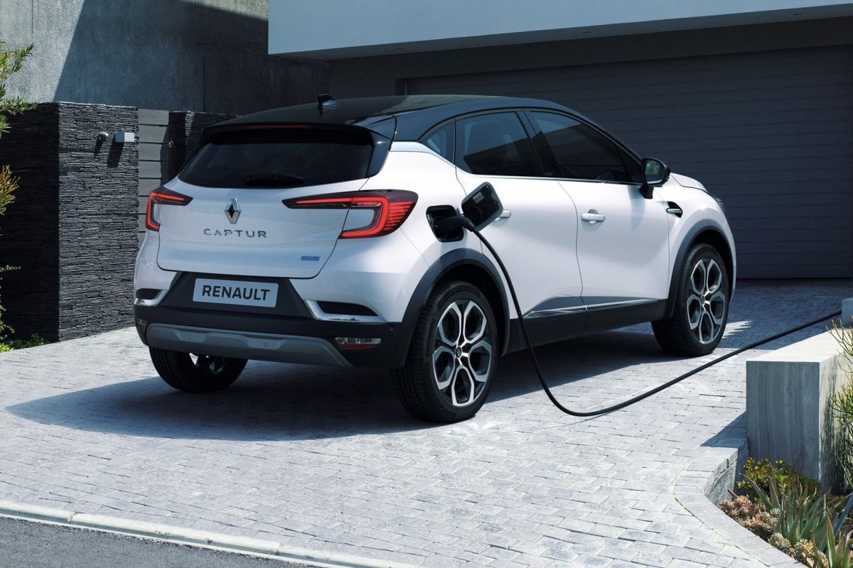 Renault Captur E-Tech híbrido enchufable recargable 2020