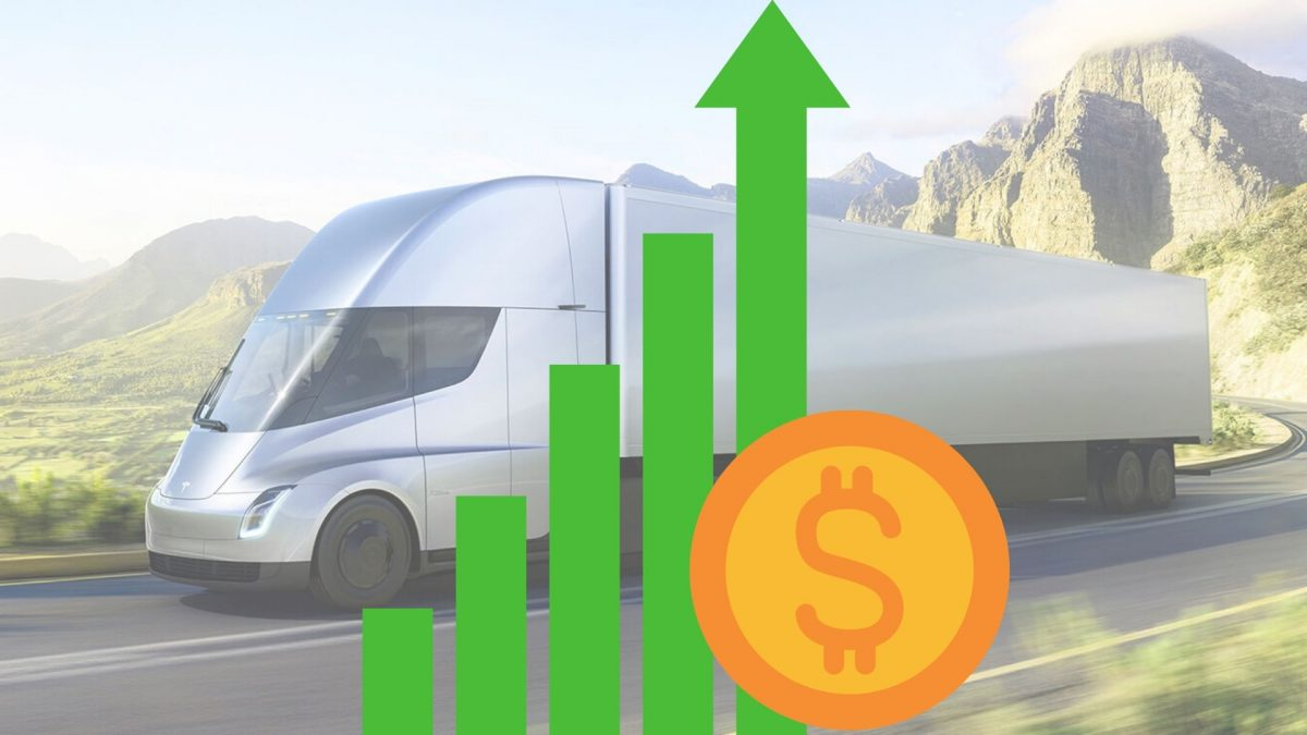 Tesla Semi Action dollar