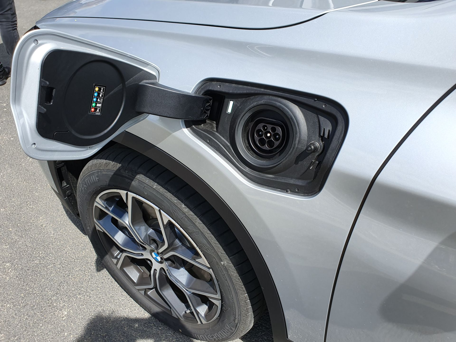 Prise recharge BMW X1 2020