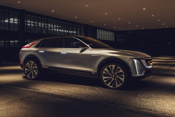 Le Cadillac Lyriq dévoile timidement l'interface de son écran