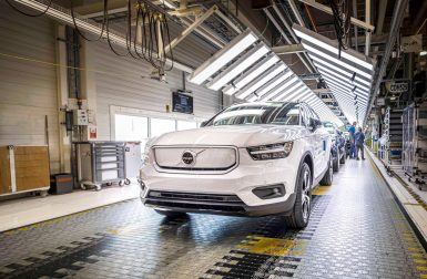 Le Volvo XC40 Recharge entre en production