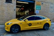 La Tesla Model 3 adopte l'iconique robe des taxis de New York