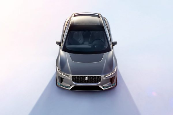 Jaguar J-Pace : un grand SUV électrique concurrent du Tesla Model X ?
