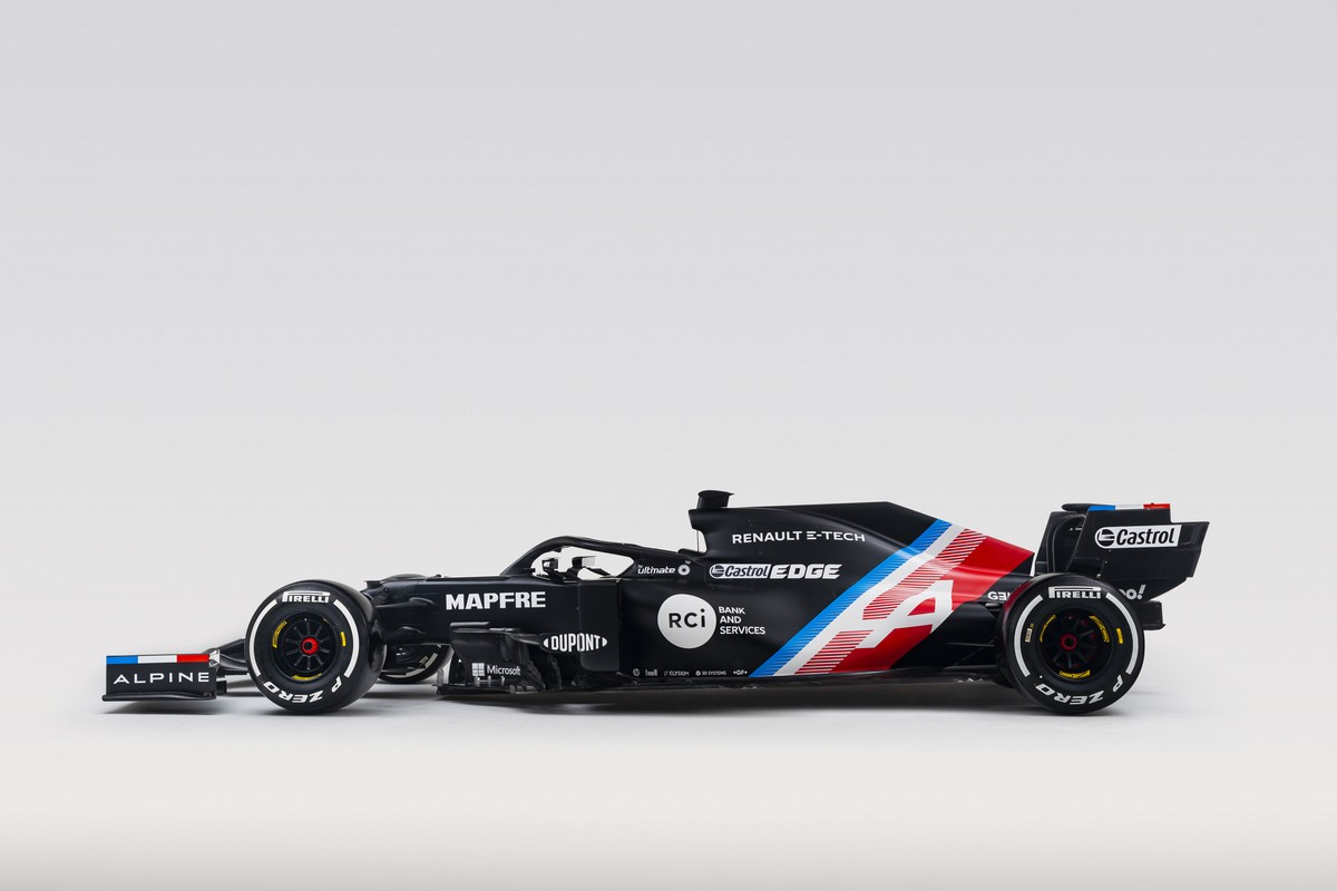 La future F1 d'Alpine