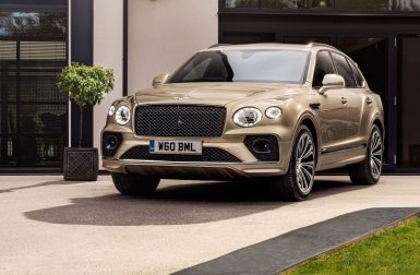 Le Bentley Bentayga hybride rechargeable se remaquille pour 2021