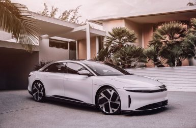 La Lucid Air arrivera en Europe en 2022