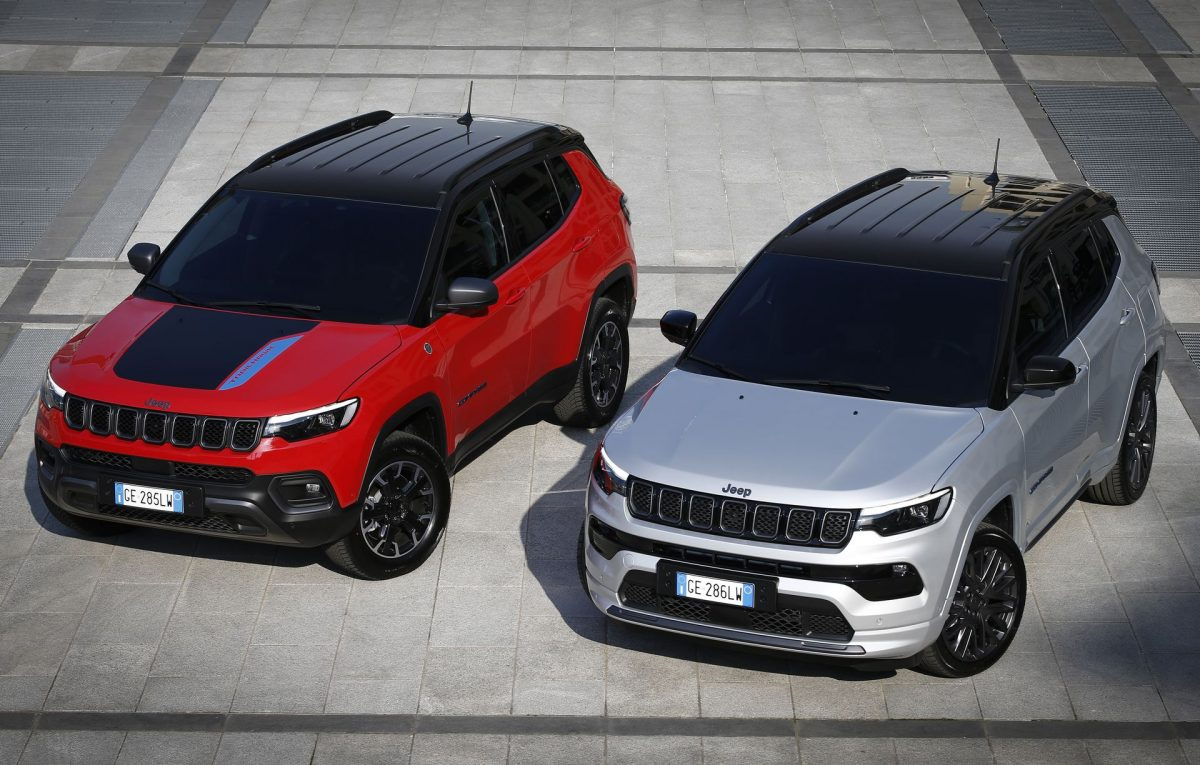 Jeep Compass Trailhawk and S 4xe 2021